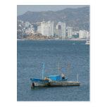 Barcos 2 de Acapulco Tarjeta Postal