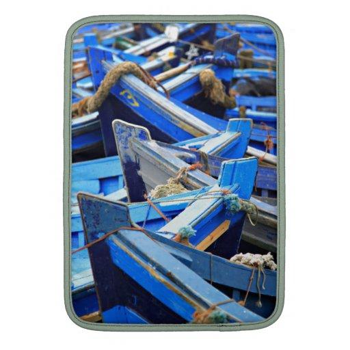 Barcos azules fundas MacBook