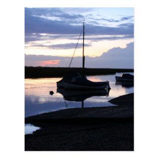 Barcos Blakeney en la oscuridad Tarjetas Postales