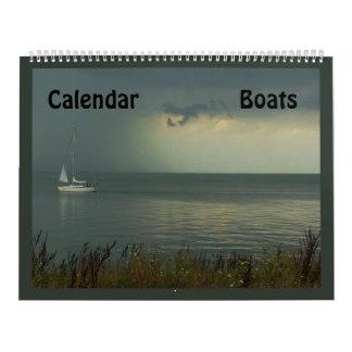 Barcos Calendario