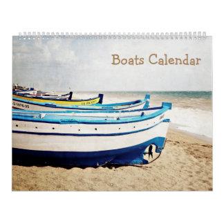 barcos de 12 meses calendarios