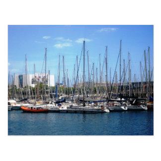 Barcos de Barcelona Tarjetas Postales