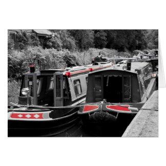 Barcos de canal de Basingstoke Tarjeton