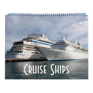 Barcos de cruceros calendarios