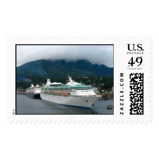 Barcos de cruceros sello