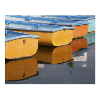 Barcos de fila de Henley-en-Thames en el río Támes Tarjetas Postales