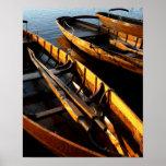 Barcos de fila en Derwentwater Impresiones