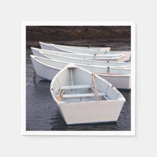 Barcos de fila servilletas desechables