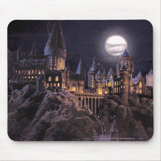 Barcos de Hogwarts a escudarse Mousepads
