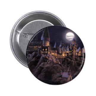 Barcos de Hogwarts a escudarse Pin Redondo De 2 Pulgadas