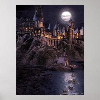 Barcos de Hogwarts a escudarse Póster
