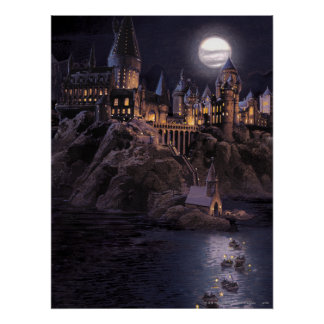 Barcos de Hogwarts a escudarse Posters