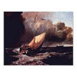 Barcos de Holländische en una tormenta por los Wi Comunicado