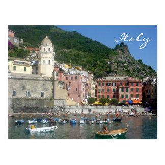 barcos de Italia del vernazza Postal