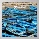 Barcos de Marruecos Impresiones