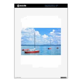 Barcos de navegación calcomanías para el iPad 2