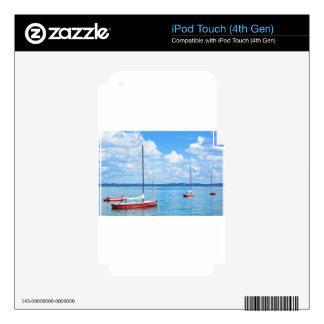 Barcos de navegación calcomanías para iPod touch 4G