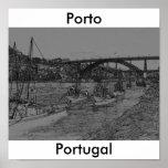 Barcos de Oporto Póster