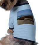 Barcos de pesca abiertos camiseta de mascota