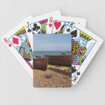 Barcos de pesca abiertos cartas de juego