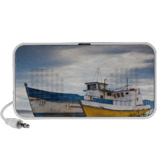 Barcos de pesca laptop altavoz