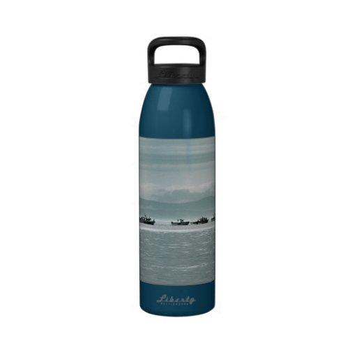 Barcos de pesca botella de agua reutilizable
