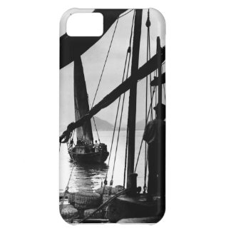 Barcos de pesca brasileños 1890 funda para iPhone 5C
