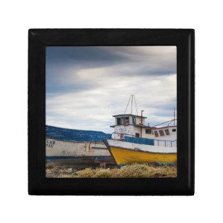 Barcos de pesca caja de regalo