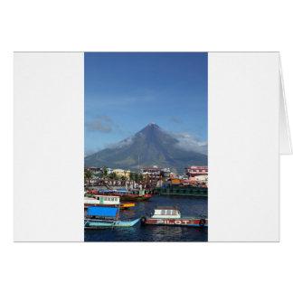 Barcos de pesca del Monte Mayon y de Legaspi Felicitacion