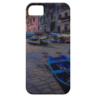Barcos de pesca en Riomaggiore, Cinque Terre, iPhone 5 Protector