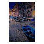 Barcos de pesca en Riomaggiore, Cinque Terre, Papelería De Diseño