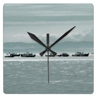 Barcos de pesca reloj