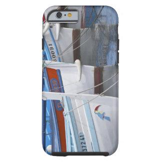 Barcos de pesca típicos de Provencal pintados en 2 Funda De iPhone 6 Tough