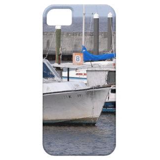 Barcos de pesca viejos iPhone 5 funda