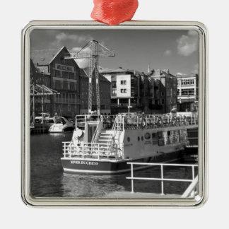 Barcos de placer en el río Ouse de York Ornato