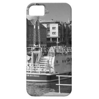 Barcos de placer en el río Ouse. de York iPhone 5 Coberturas