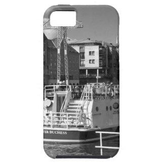 Barcos de placer en el río Ouse. de York iPhone 5 Case-Mate Fundas