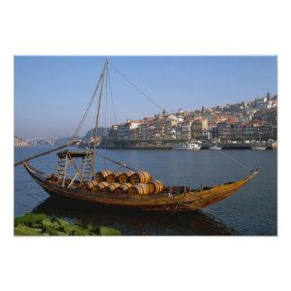 Barcos de Rabelo Oporto Portugal Fotografias