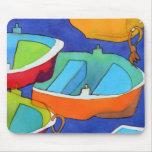 Barcos de Rowing Mousemat Alfombrilla De Raton