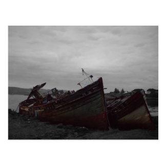 Barcos de Salen - isla de reflexione sobre - Tarjetas Postales