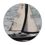 Barcos de vela fichas de póquer