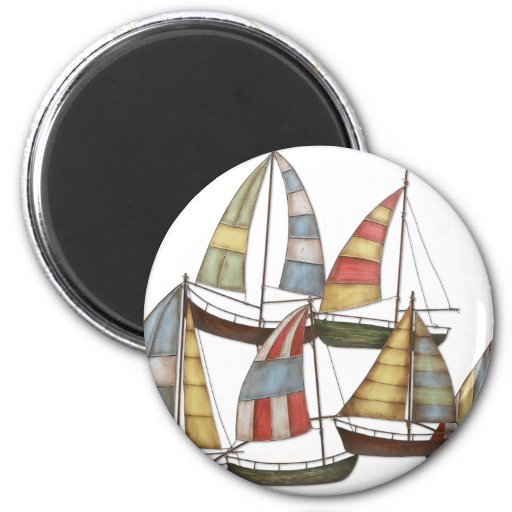 Barcos de vela iman de nevera