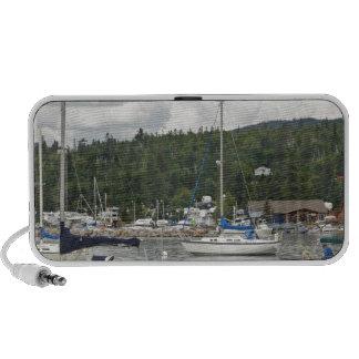 Barcos de vela magníficos de Marais Notebook Altavoces