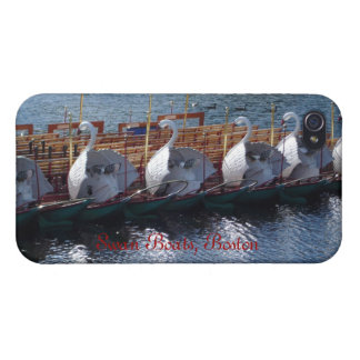 Barcos del cisne, caso del iPhone 4 de Boston iPhone 4/4S Funda