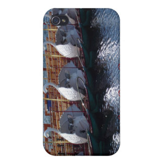 Barcos del cisne, caso del iPhone 4 de Boston iPhone 4 Carcasa