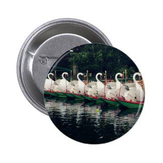 Barcos del cisne de los jardines públicos de pin redondo de 2 pulgadas
