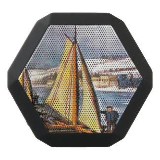 Barcos del hielo de la navegación altavoces bluetooth negros boombot REX