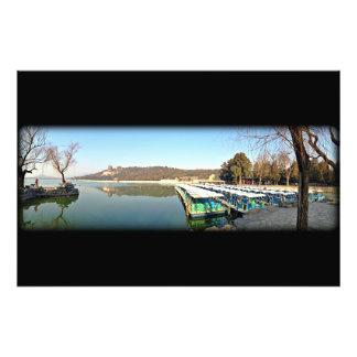 Barcos del palacio de verano fotografía