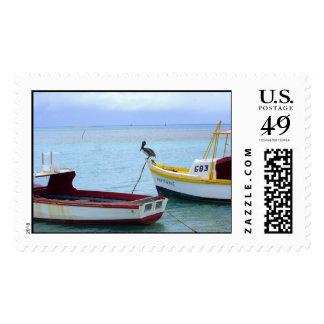 Barcos del pelícano sellos