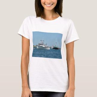 Barcos del puerto de Chatham Playera